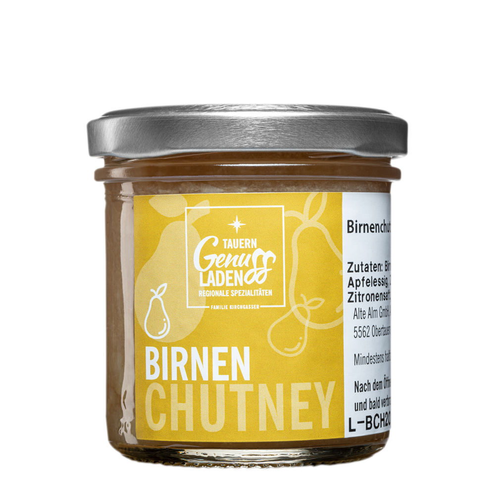 birnen chutney